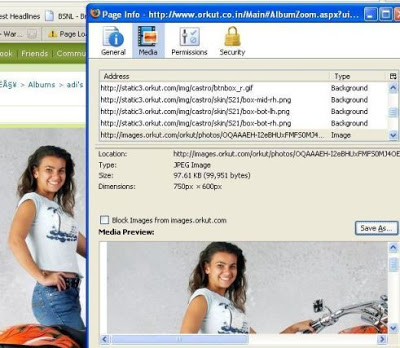 download protected images chrome