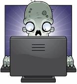 computer zombie lokks like
