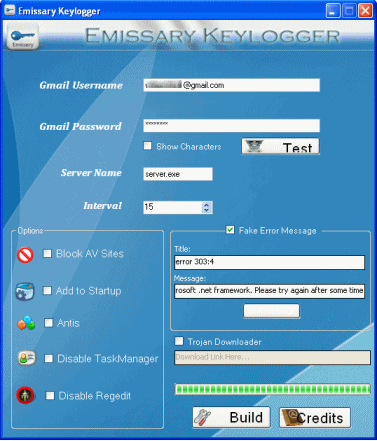 Download Free Emissary Keylogger Software
