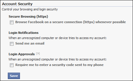 Facebook's Security Question vulnerability