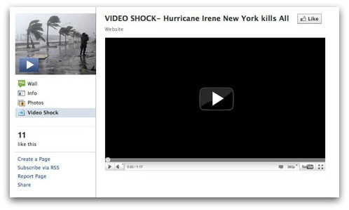 IDEO SHOCK - Hurricane Irene New York kills All