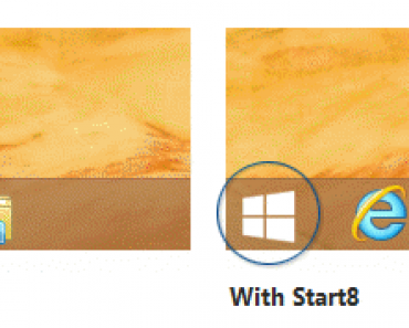 How to get back Start Button in Windows 8?