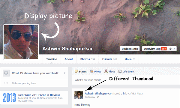 Facebook Profile Picture hack