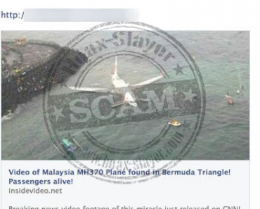 Malaysia Air Plane Found In Bermuda Triangle