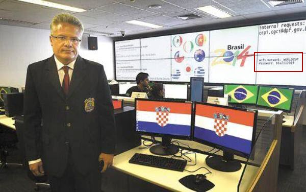 WORLD CUP Wi-Fi password