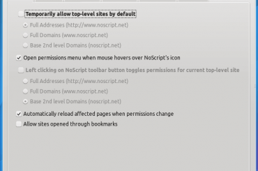 Use NoScript & Protect yourself from Facebook SPAM