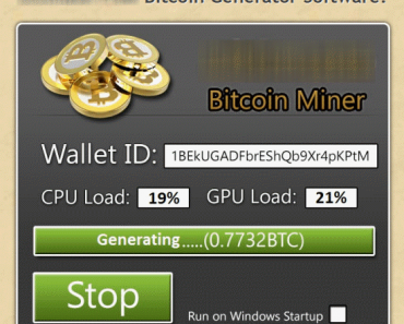 Activation key for Bitcoin Generator