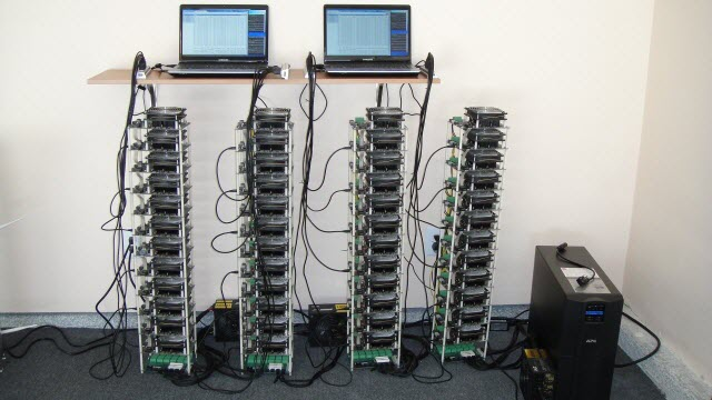 Special bitcoin mining rigs in India