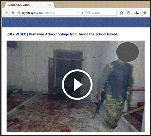 peshawar school attack cctv footage