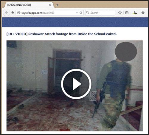 peshawar school attack cctv footage