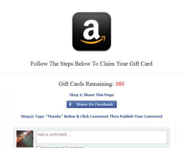 amazon scam card