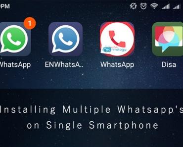 Multiple whatsapp installation