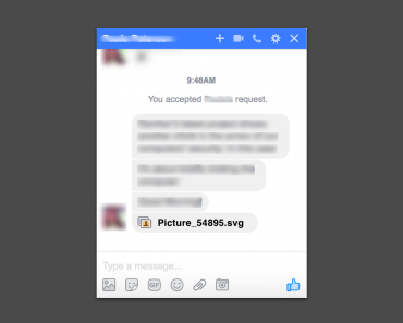 Facebook Spam in messages