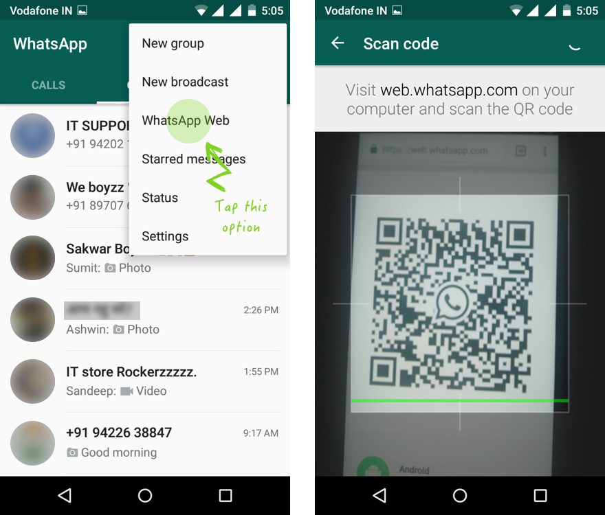 Whatsapp Hacks