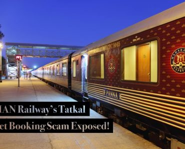 IRCTC Tatkal Rail Tickets Scam exploit